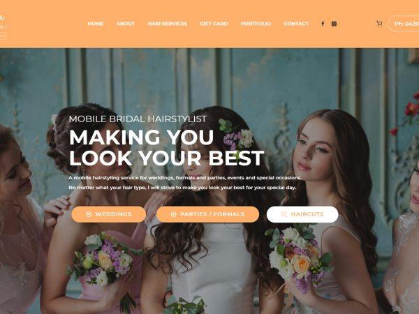 Angela Richie Website Design