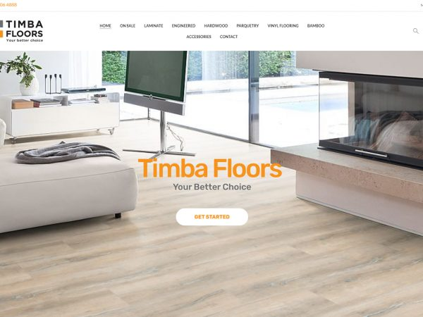 Timba Floors Ecommerce Website Design